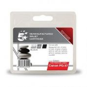 5 Star Canon PG-37 Compatible Inkjet Cartridge Black